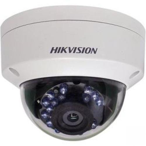 Hikvision DS-2CE56D1T-VPIR_3.6MM OUTDOOR IR DOME HD1080P, 3.6MM, 20M IR, DAY/NIGHT, DWDR, SMART IR, IP66, 12 VDC by Hikvision