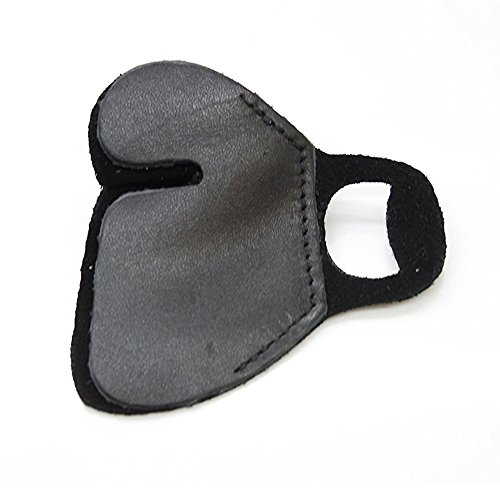 SAS Suede and Leather Finger Tab Right Hand (Small, Left)