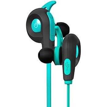 BlueAnt - Pump Lite HD Wireless Sportsbuds, IP54 Sweat-Proof, Siri and Google Integration (Teal)