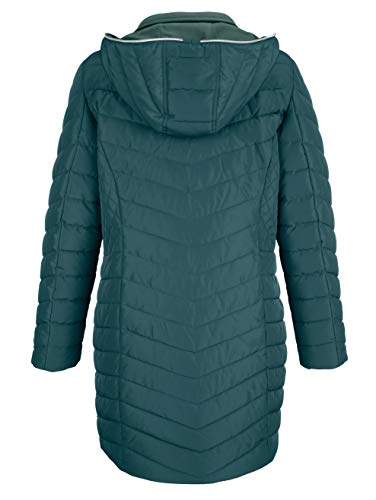 Dress Aufwendiger Longjacke Grün Steppung in Damen by in Wasserabweisend FxrqRFfw