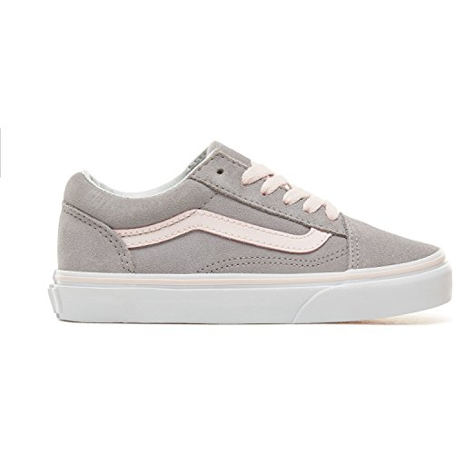Price comparison product image Vans UY Old Skool Alloy/Heavenly Pink Suede 5 M US Big Kid