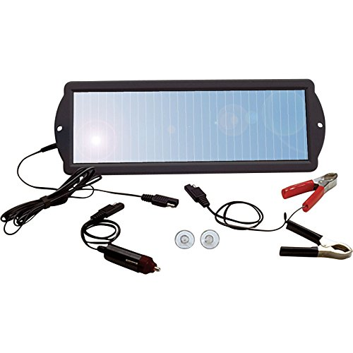 Solar Powered Car Battery Charger 12V - 9