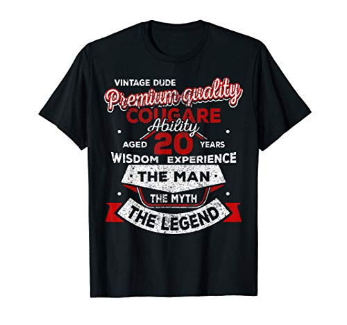 The Man Myth Legend 20th Birthday Gifts For 20 Years Old Z2 T-Shirt