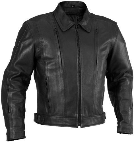 River Road Leather Cruiser Jacket - 1