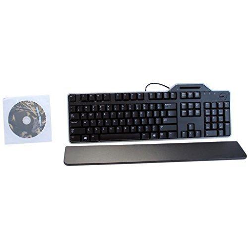 NEW OEM Dell KB813t Black USB English Keyboard with Smart Card Reader - 34GPR