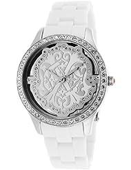 Christian Lacroix Womens 8001506 White Acetate Watch