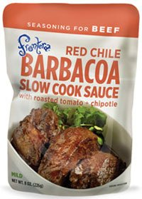 Beef Tomato Sauce - Salpica Slow Cook Barbacoa 8 oz (Pack Of 6)