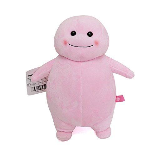 韓国 キャラクター[ チバンイ]脂肪ちゃん キーホルダー キーチャーム キーリング 飾り おもちゃ プレゼント ギフト ユニーク おもしろ雑貨 ダイエット ぬいぐるみ (28cm(ぬいぐるみタイプ)  ピンク)