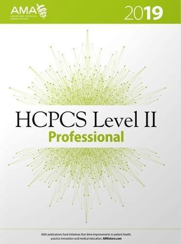 HCPCS 2019 Level II Professional (HCPCS Level II (American Medical Assn)) -