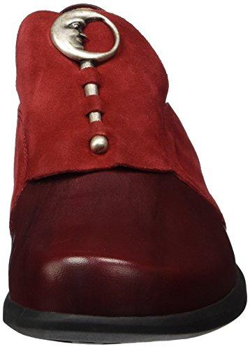 Think Pensa, Mocasines para Mujer Rojo (rosso 70)