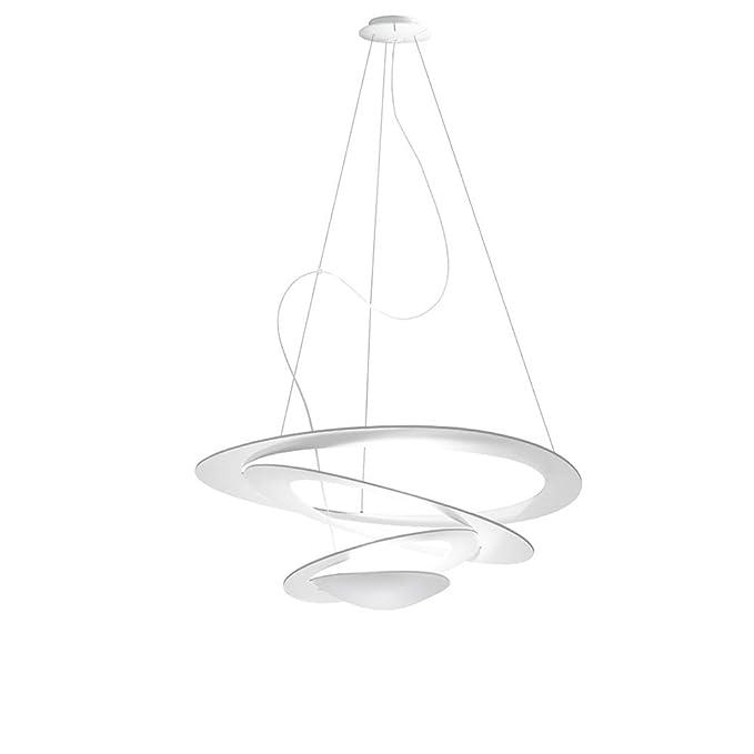 Artemide Pirce Mini Lámpara de techo, LED 44 W, blanco ...