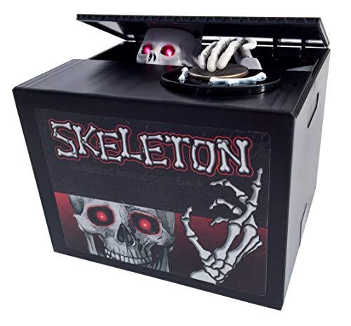 Spooky Skeleton Surprise Animatronic FX Coin