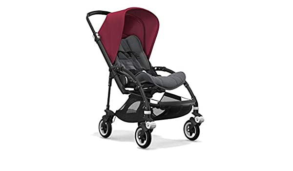 Bugaboo Nouvelle Poussette Bee 5 Capote Rouge Rubis Chassis ...