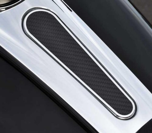 Precision Billet Grand Prix Billet Tank Cover - Carbon Black HD-GP-TANK-B by Precision Billet