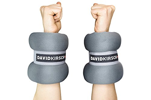 Ankle and Wrist Weights by David Kirsch Wellness- Ankle Weights Set for Fitness, Jogging, Aerobics, Yoga- Adjustable Straps- Premium Quality Material- User-Friendly and Comfortable. 10lb-2 by David KirschWellness