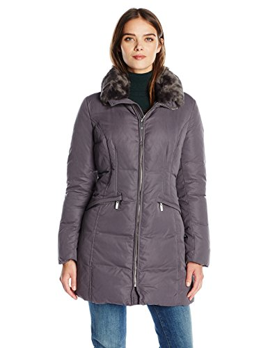Anne Klein Women's Soft Touch Down Puffer Coat