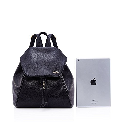standard Black Retro Fold Barbie Shoulder Simple Series bbbp031 Bag Korean Women zwO6vqd