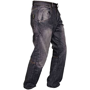 Mens Motorbike Motorcycle Padded Safety Protective Lining Camo Cargo Trouser Jean Pant 6 Pocket with Padding Camo Cargo, W42 - L34