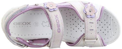 Geox Jr Sandal Roxanne J22D9W05022C1022 - Sandalias de vestir para niña Blanco