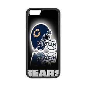 iphone6s 4.7inch Phone Case Black Chicago Bears jjl6387677