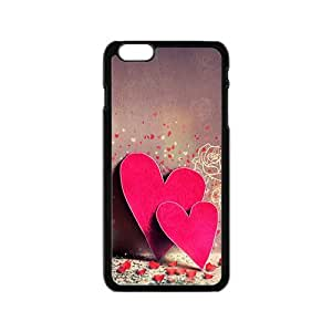 Pink artistic love hearts Phone Case for iPhone 6