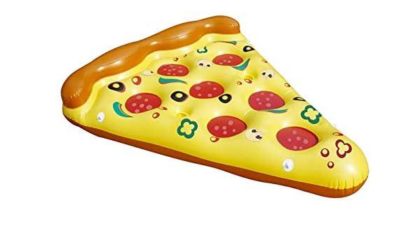 Zanteca Pizza - Piscina hinchable para exterior, juguete flotante ...
