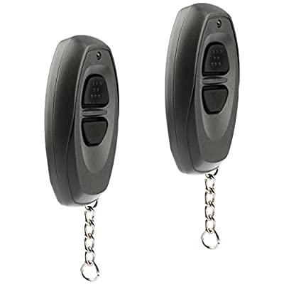 Car Key Fob Keyless Entry Remote fits Toyota Dealer Installed Systems (BAB237131-022, 08191-00870), Set of 2: Automotive