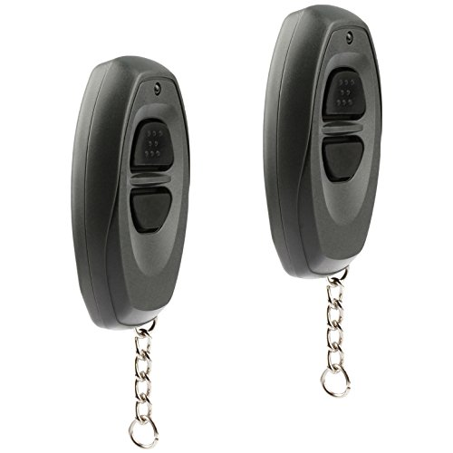 Car Key Fob Keyless Entry Remote fits Toyota Dealer Installed Systems (BAB237131-022, 08191-00870), Set of 2