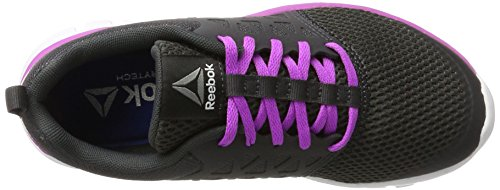 2 Cushion Coal Laufschuhe Reebok Mt 0 White Pewter Grau Sublite Vicious XT Violet Damen twSqI