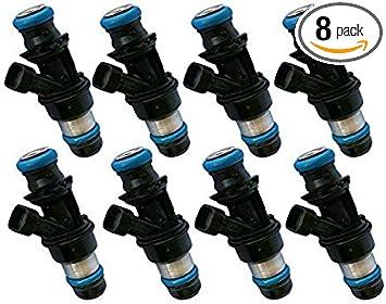 4 Hole MPG Upgrade 8x OEM Delphi Fuel injectors for GM Vehicles 4.8//5.3//6.0L V8