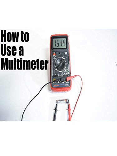How to Use a Multimeter for Beginners - How to Measure Voltage, Resistance, Continuity and Amps (Outlet Under)