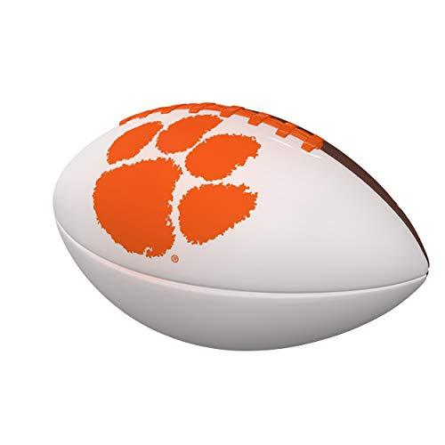 Logo Brands NCAA Clemson Tigers Autograph Football, Official Size, Brown ()