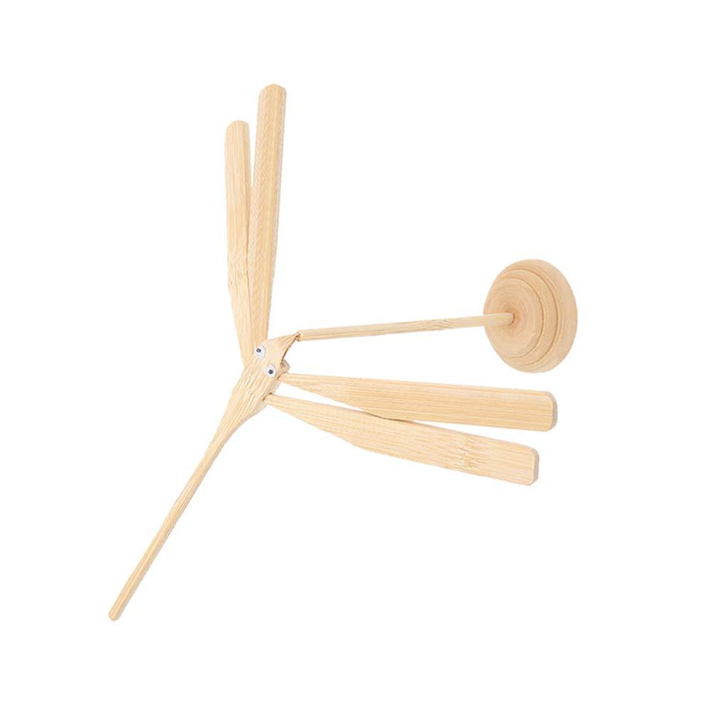 GARNECK 3 st/ücke Bambus Libelle kreative Bambus manuelle DIY Balance Spielzeug handgemachte Handwerk Dekoration f/ür b/üro zu Hause