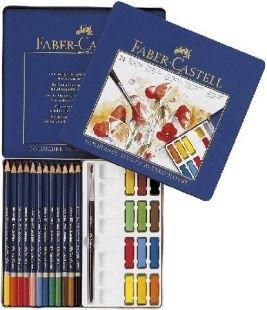 ファーバーカステル ゴールドファーバースタジオカラー12色水彩色鉛筆12色 混合セット 色鉛筆 FC126015