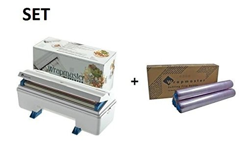 Wrapmaster 3000 - Dispensador de rollo de film transparente Incluye rollo de film.: Amazon.es: Grandes electrodomésticos