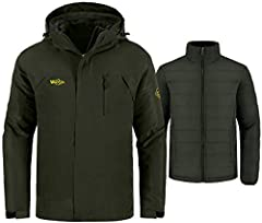 Recommend Match Clothing: A rain jacket with a fleece vest keep you warm in autumn;It is cool wear a sweatshirt matching a rain jacket when you are running;You can invest in a couple of wantdo jackets and use them with different shirts and sl...