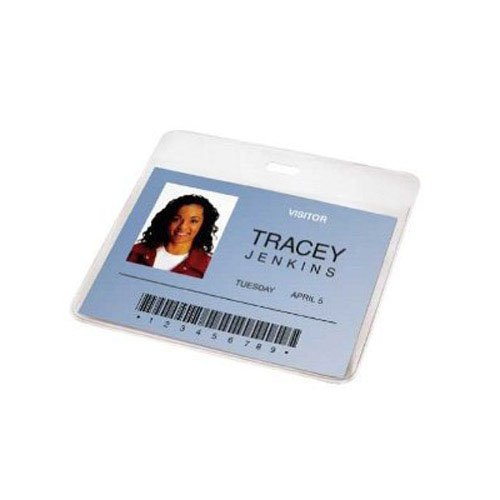 GBC Pre-Punched ID Badge Laminating Pouches, 5 mm Thickness