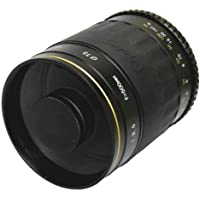 Opteka 500mm Telephoto f/8.0 Mirror lens for Pentax K Mount Digital SLR Camera