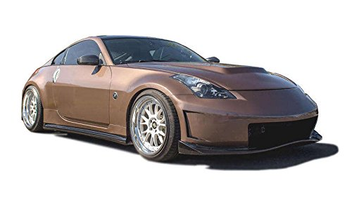 Nissan 350Z 2003-2008 N3-R Style 4 Piece Polyurethane Full Body Kit manufactured by KBD Body Kits. Extremely Durable, Easy Installation, Guaranteed Fitment and Made in the USA! (4 Piece Ground Effects)