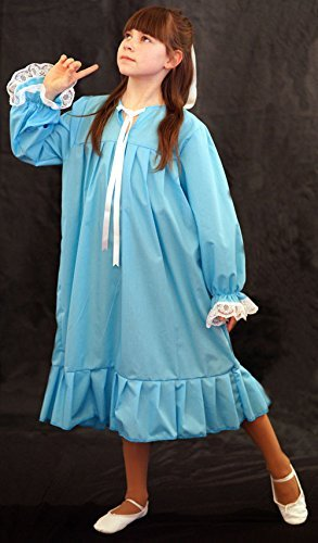 World Book Day-Neverland-Pan BLUE WENDY NIGHTDRESS Child's Fancy Dress Costume - All Ages