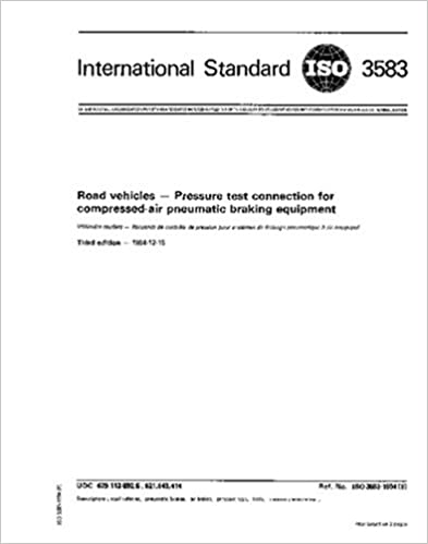 Descargas de libros gratis en líneaISO 3583:1984, Road vehicles - Pressure test connection for compressed-air pneumatic braking equipment in Spanish PDF PDB CHM