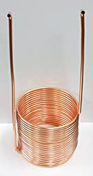 Quick Chill Home Brew Copper Immersion Wort Chiller - 50 Feet X 3/8 Inch