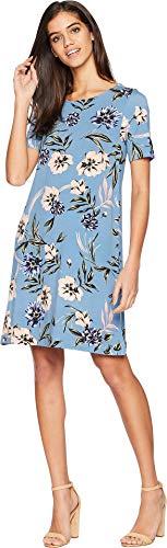 (Yumi Kim Women's Livi Shift Dress, Wildflowers, Floral, Blue, X-Small)
