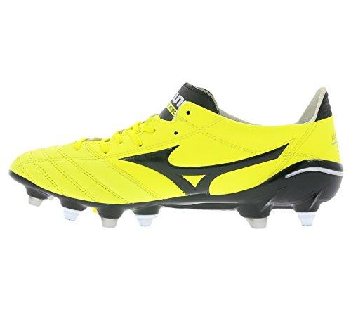 Mizuno Morelia Neo Mix Schuhe Herren Fußballschuhe FG Stollen Gelb P1GC151394, Größenauswahl:41