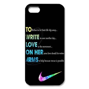DAZHAHUI Just do it Nike fashion cell phone case For Iphone 6 Plus 5.5 Inch Cover hjbrhga1544