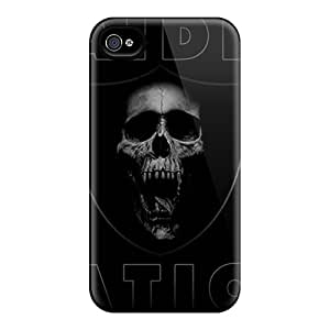 Iphone 6 AZO5478TJaK Customized Stylish Oakland Raiders Skin Anti-Scratch Hard Cell-phone Cases -ErleneRobinson