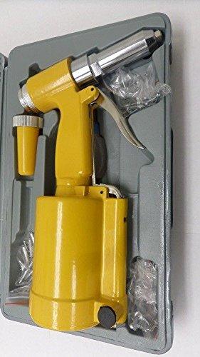 Pneumatic Air Hydraulic Pop Rivet Gun Riveter Riveting hand Tool w/Case by BestChoiceFromUS