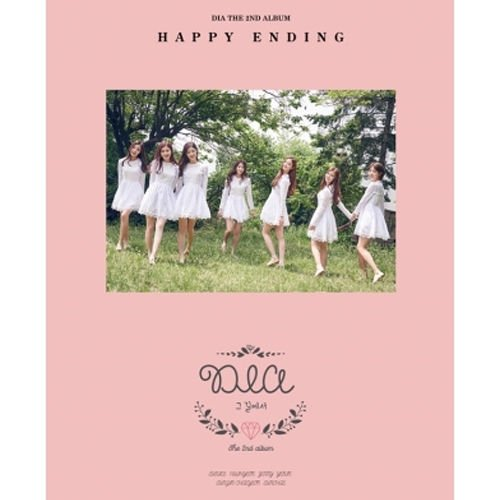 dia-happy-ending-2nd-album-cd-photo-book-1p-book-mark-k-pop-sealed