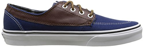 Unisex leather Blue Azul estate adulto potting Vans Soil Zapatillas Brigata plaid wEq7cSXO