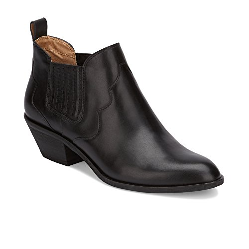 G.H. Bass & Co. Women's Naomi Chelsea Boot, Black 1, 6 M US